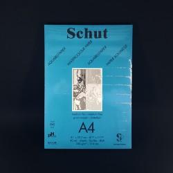 Blok Heelsum HollandSchut pro akvarelové techniky. 40 bílých zrnitých listů, velikost A4, gramáž 250 gm2