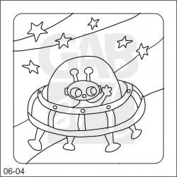 Obrázek k pískování - ufo