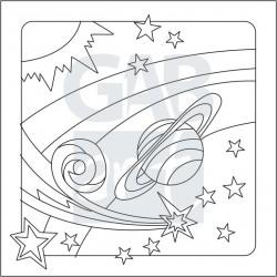 Obrázek k pískování - planety