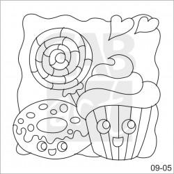 Obrázek k pískování - muffin