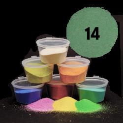 Tmavě zelený písek, 30 g