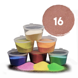 Hnědý písek, 30 g