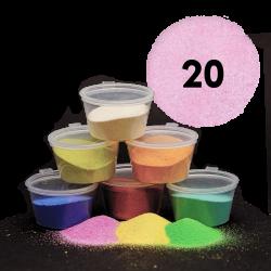 Světle růžový písek, 30 g