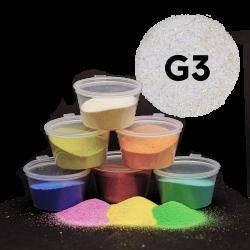 Písek zlatý glitr, 30 g