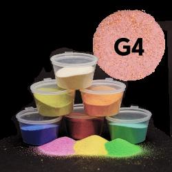 Písek měděný glitr, 30 g