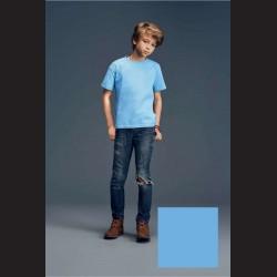 Tričko dětské světle modré, XS - 5/6 let (vel. 122)