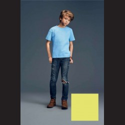 Tričko dětské žluté, M - 9/10let (vel. 134)