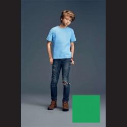Tričko dětské zelené, L - 11/12 let (vel. 140)
