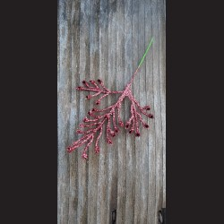 Jehličí zápich - růžové glitrové
