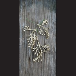 Jehličí zápich - zlaté glitrové