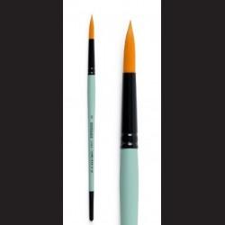 Kulatý štětec Renesanc , syntetický krátký na akvarel, akryl, olej