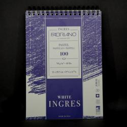 Umělecký blok FABRIANO - vhodné pro pastel, 100xA4, 90g, bílý papír