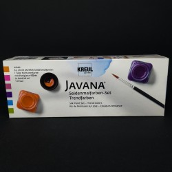 Barvy na hedvábí a textil JAVANA, vhodné na světlý textil, 6x20 ml