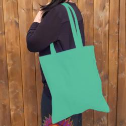 Bavlněná taška, mint