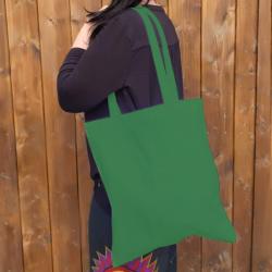 Bavlněná taška, dark green