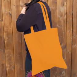 Bavlněná taška, tangerine