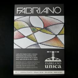 Umělecký blok FABRIANO pro pastel, uhel a grafit, 20xA4, 250g
