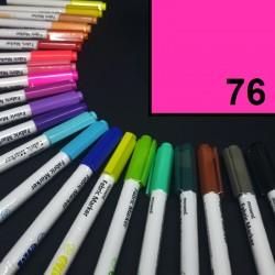 Popisovač / fix na textil Monami Brush - neonově růžový, 1,3 mm, k dekorování a dotvoření textilu, např. triček, tašek aj.
