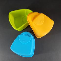 Forma na odlévání, taška, 6ks, vhodné na odlévání sádry, kreativního betonu, mýdlové hmoty, samotvrdnoucí hmoty nebo polymerovýc