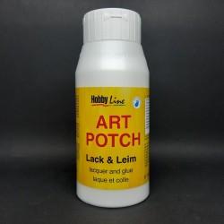 Lepidlo a lak Art Potch, vhodné pro decoupage na terakotu, dřevo, keramiku, kámen nebo lepenku, 750ml