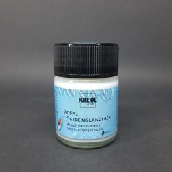 Akrylový lak, satin, vhodné jako ochrana pro vaše malby