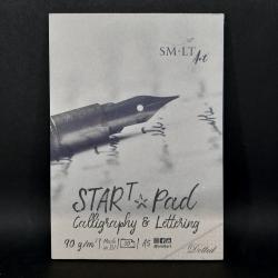 Blok SMLT Art, tečkovaný, 90g, 30xA5, vhodné na kaligrafii, lettering nebo i procvičování rukopisu