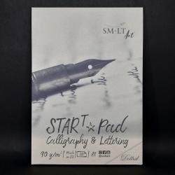 Blok SMLT Art, tečkovaný, 90g, 30xA4, vhodné na kaligrafii, lettering nebo i procvičování rukopisu