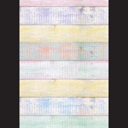 Fotokarton - pastel dřevo, A4, 300g, vhodné pro vystřihování, lepení a k dekoracím