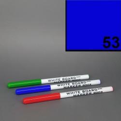 Školní stíratelný mazatelný popisovač / fix na tabuli Koh-i-noor - modrý - slabý tenký 2 mm.