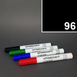 Školní stíratelný mazatelný popisovač / fix na tabuli Koh-i-noor - černý - silný tlustý 2,5 mm.