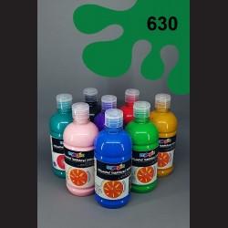 Tmavě zelená temperová barva Primo Magic 500 ml. Krycí, světlostálá, rychleschnoucí, vhodná pro děti i dospělé.