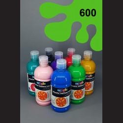 Světle zelená temperová barva Primo Magic 500 ml. Krycí, světlostálá, rychleschnoucí, vhodná pro děti i dospělé.