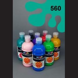 Tyrkysová temperová barva Primo Magic 500 ml. Krycí, světlostálá, rychleschnoucí, vhodná pro děti i dospělé.