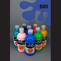 Ultramarinová temperová barva Primo Magic 500 ml. Krycí, světlostálá, rychleschnoucí, vhodná pro děti i dospělé.
