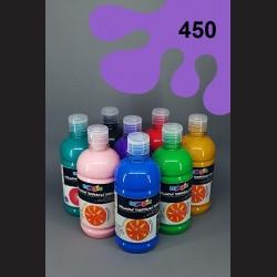 Lila temperová barva Primo Magic 500 ml. Krycí, světlostálá, rychleschnoucí, vhodná pro děti i dospělé.