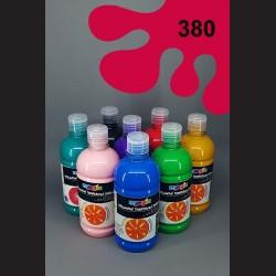 Šarlatová temperová barva Primo Magic 500 ml. Krycí, světlostálá, rychleschnoucí, vhodná pro děti i dospělé.