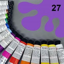Profesionální olejová barva UMTON, 20 ml, odstín ultramarin červený. Kvalitní, odolné, světlostálé pigmenty.
