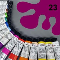 Profesionální olejová barva UMTON, 20 ml, odstín ultramarin růžový. Kvalitní, odolné, světlostálé pigmenty.