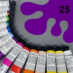 Profesionální olejová barva UMTON, 20 ml, odstín kobalt fialový tmavý. Kvalitní, odolné, světlostálé pigmenty.