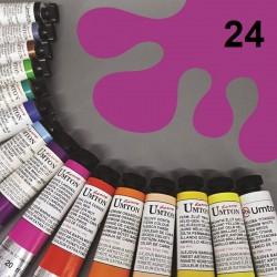 Profesionální olejová barva UMTON, 20 ml, odstín kobalt fialový světlý. Kvalitní, odolné, světlostálé pigmenty.