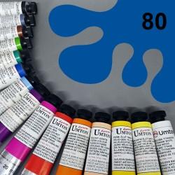 Profesionální olejová barva UMTON, 20 ml, odstín kobalt atlantik. Kvalitní, odolné, světlostálé pigmenty.