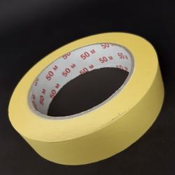 Samolepicí krepová páska, 25x50, vhodné k lepení, popisování, ale také k dekorativním účelům.