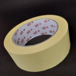 Samolepicí krepová páska, 38x50, vhodné k lepení, popisování, ale také k dekorativním účelům.