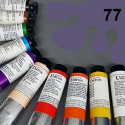 Profesionální olejová barva UMTON, 60 ml, odstín Paynova šeď světlá. Kvalitní, odolné, světlostálé pigmenty.