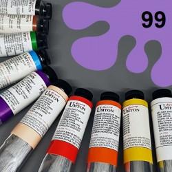Profesionální olejová barva UMTON, 60 ml, odstín violeť šedá. Kvalitní, odolné, světlostálé pigmenty.