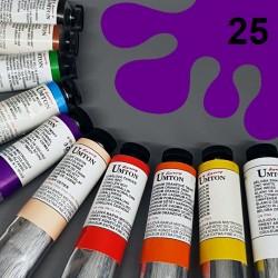 Profesionální olejová barva UMTON, 60 ml, odstín kobalt fialový tmavý. Kvalitní, odolné, světlostálé pigmenty.
