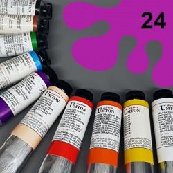 Profesionální olejová barva UMTON, 60 ml, odstín kobalt fialový světlý. Kvalitní, odolné, světlostálé pigmenty.