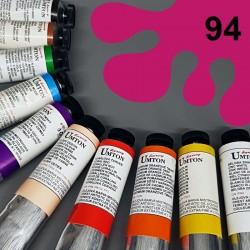 Profesionální olejová barva UMTON, 60 ml, odstín magenta cardinal. Kvalitní, odolné, světlostálé pigmenty.