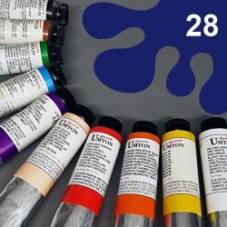 Profesionální olejová barva UMTON, 60 ml, odstín pařížská modř. Kvalitní, odolné, světlostálé pigmenty.