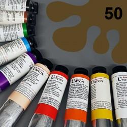Profesionální olejová barva UMTON, 60 ml, odstín umbra přírodní. Kvalitní, odolné, světlostálé pigmenty.